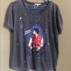 """""""Vintage"""" Michael Jackson T-shirt size L."""